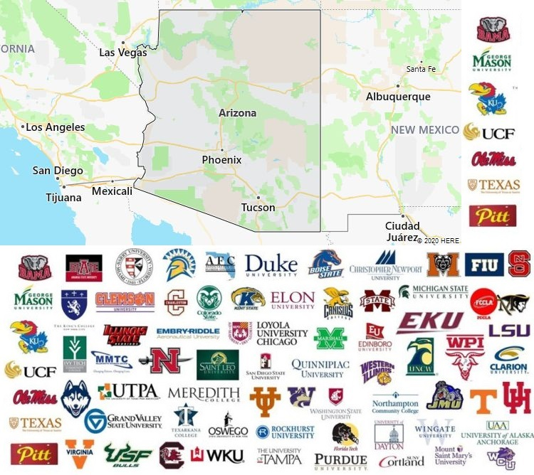 Local Colleges and Universities in Arizona