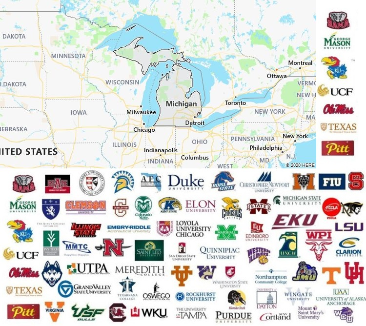 Local Colleges and Universities in Michigan