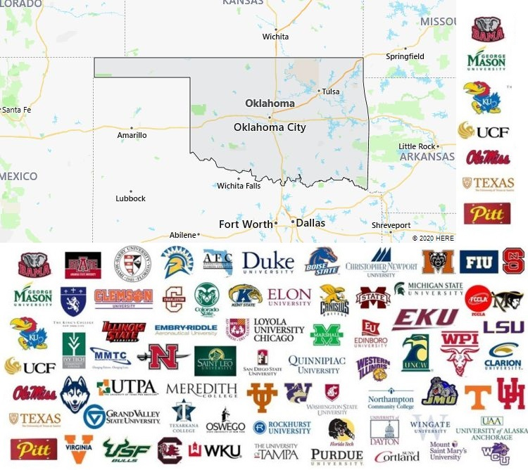Local Colleges and Universities in Oklahoma