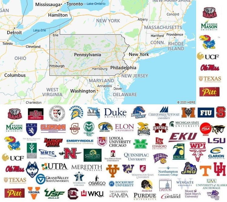 Local Colleges and Universities in Pennsylvania