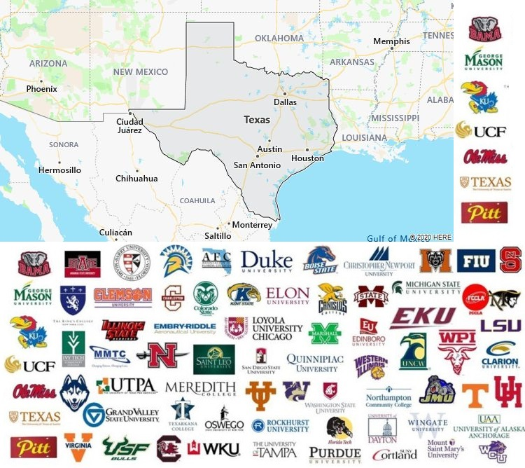 Local Colleges and Universities in Texas