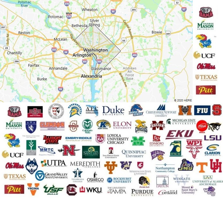 Local Colleges and Universities in Washington, DC